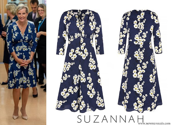Countess Sophie of wessex wore Suzannah Marigold Tea dress