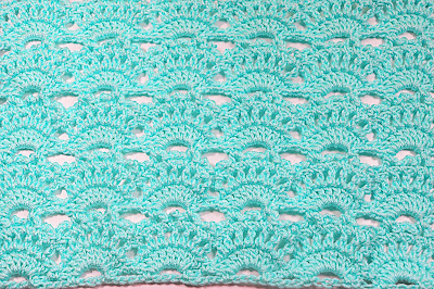 5 -Crochet Imagen punto abanicos a crochet muy facil y rapido Majovel Crochet