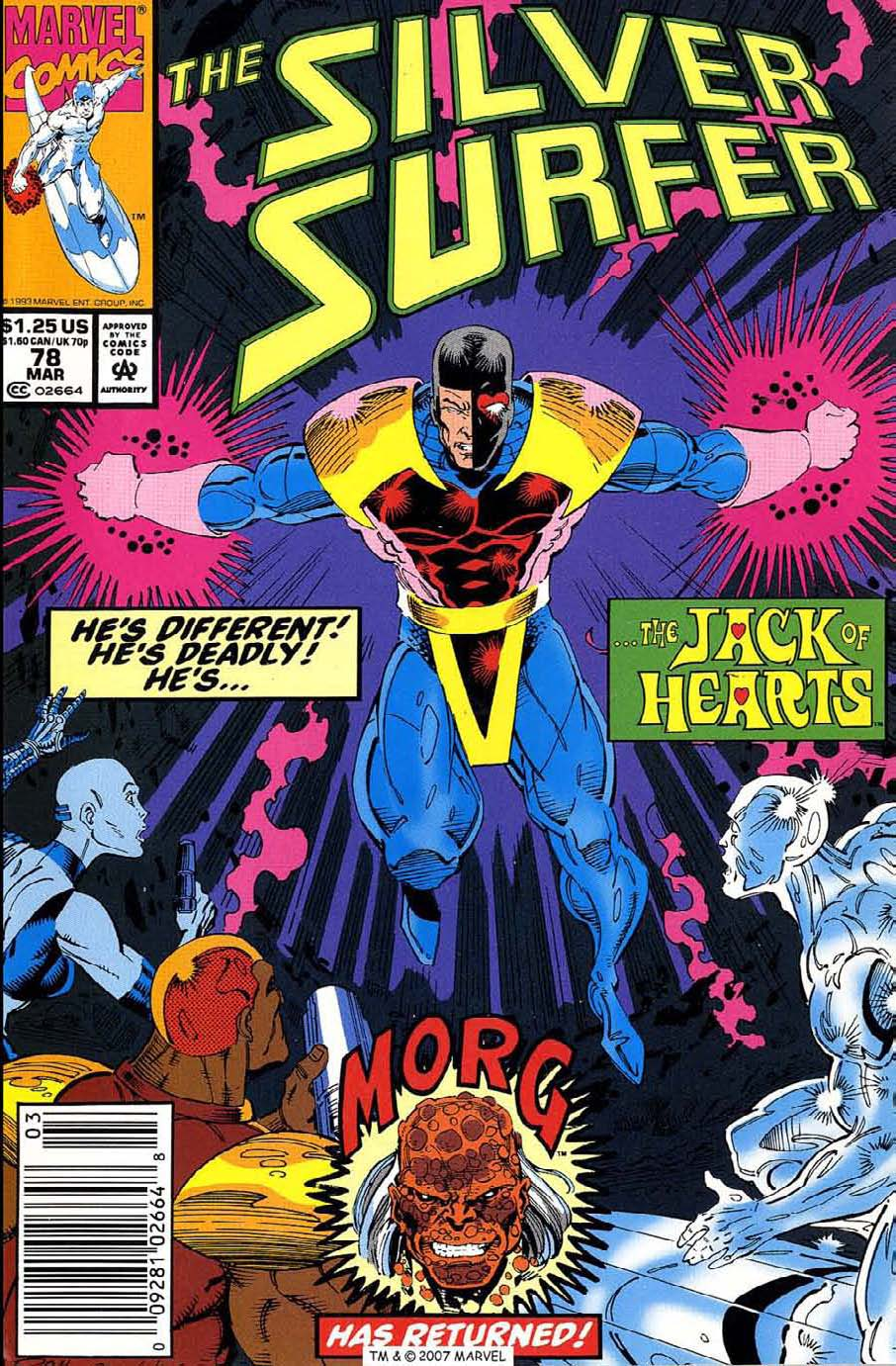 Read online Silver Surfer (1987) comic -  Issue #78 - 1
