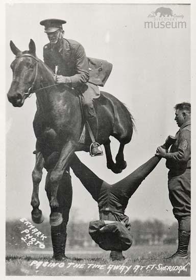 Lake County Illinois History Fort Sheridan Horse Shows