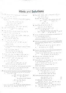 hcf and lcm of polynomials 3