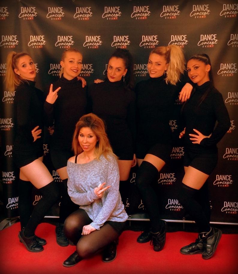 Danse avec les stars du groupe de danse dames simples