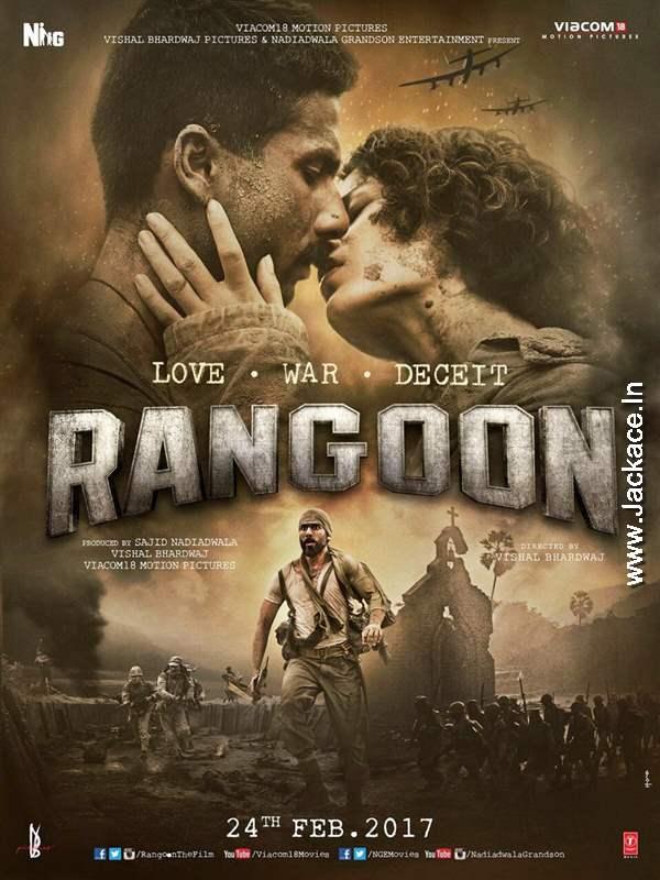 Rangoon First Look Poster 2