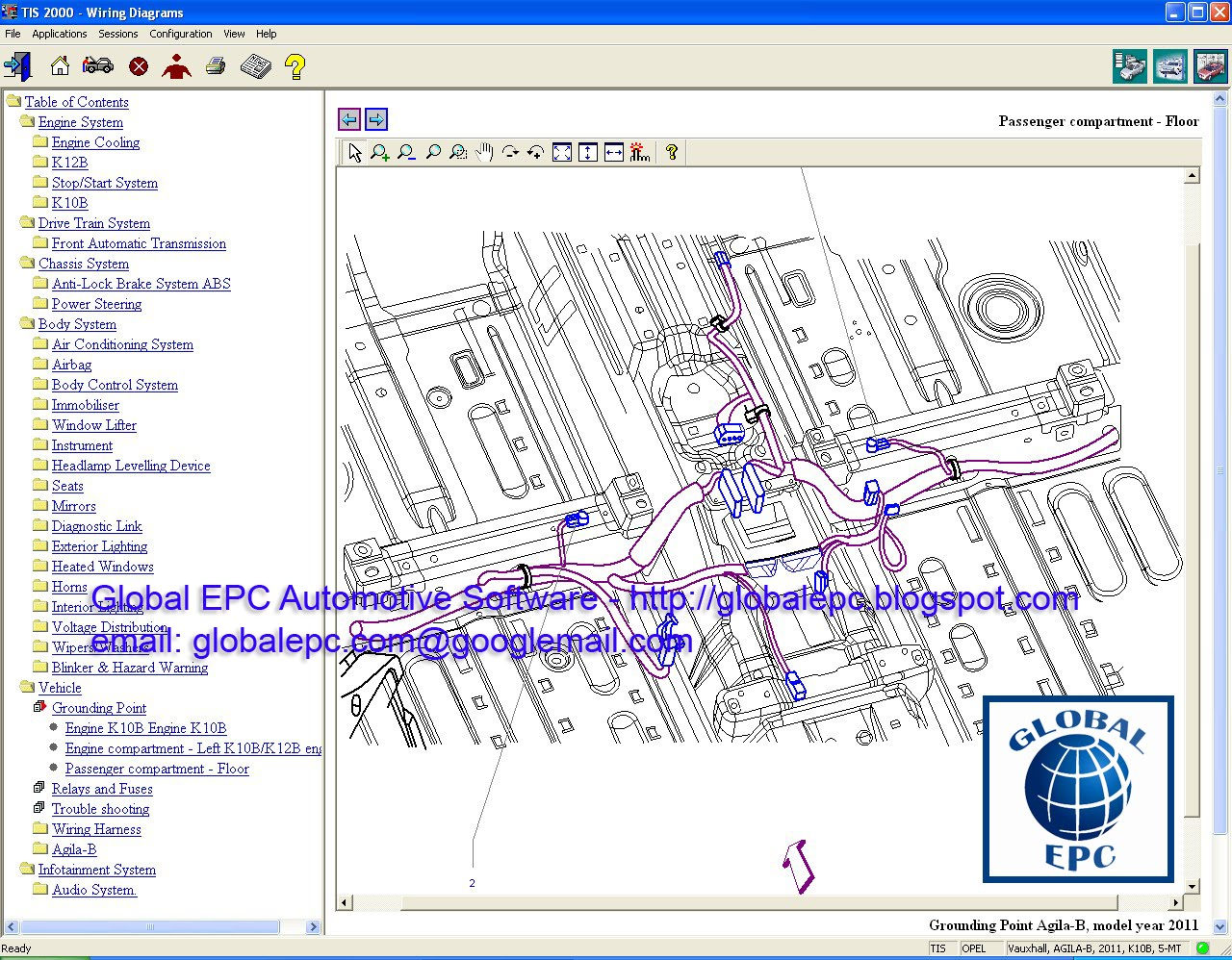 hight resolution of global epc automotive software opel vauxhall holden tis2000 tisopel vauxhall holden tis2000 tis 115 0 e