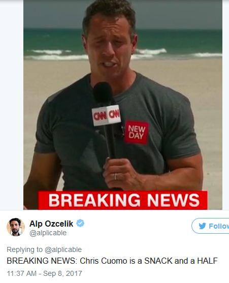 Chris Cuomo: Oh My! Who Knew CNN's Chris Cuomo Had A Body Like This