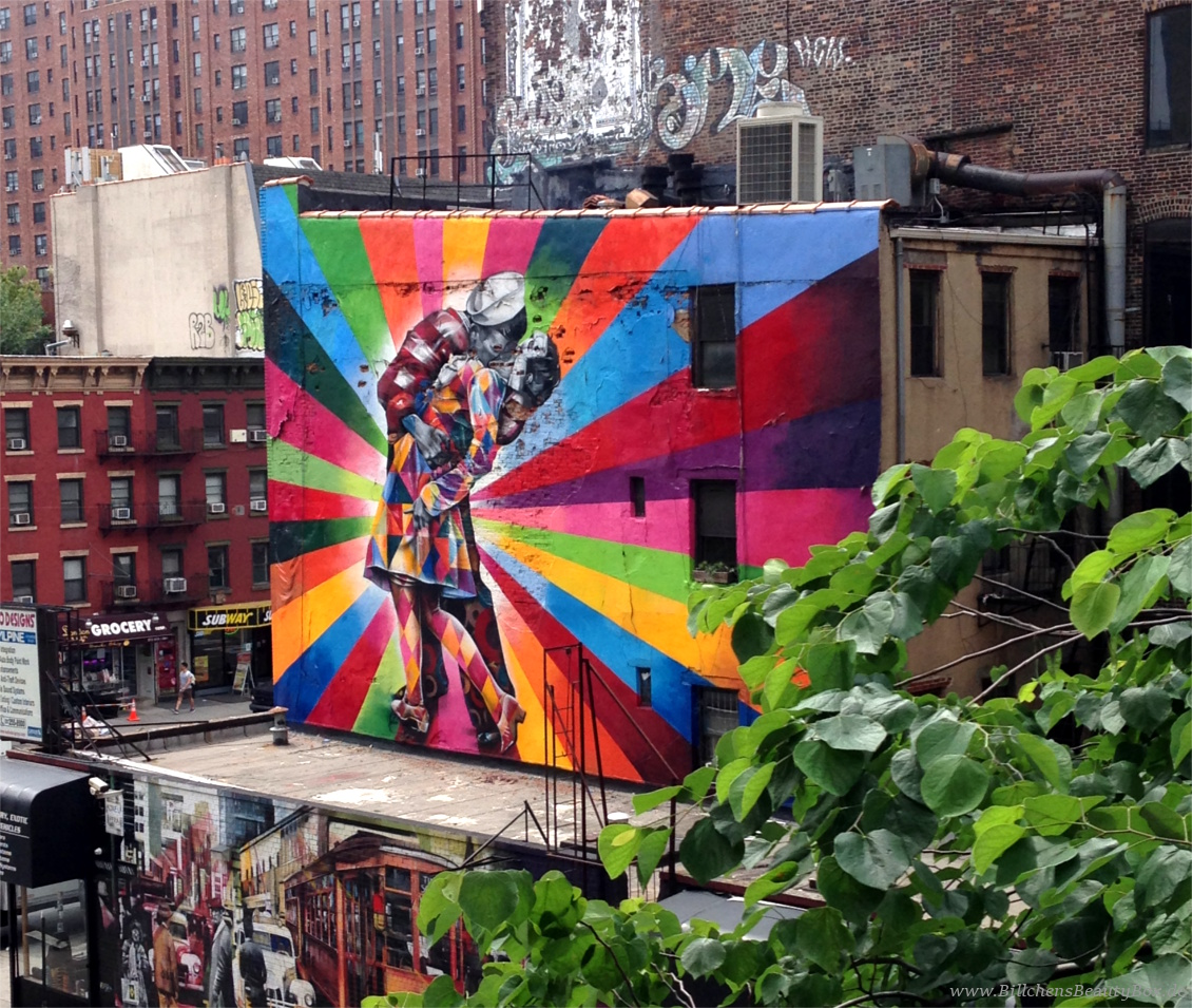 New York City Highline Wall Art Mural