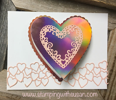 Stampin' Up! Sale-A-Bration, Be Mine Stitched Framelits Dies, Window Sheets