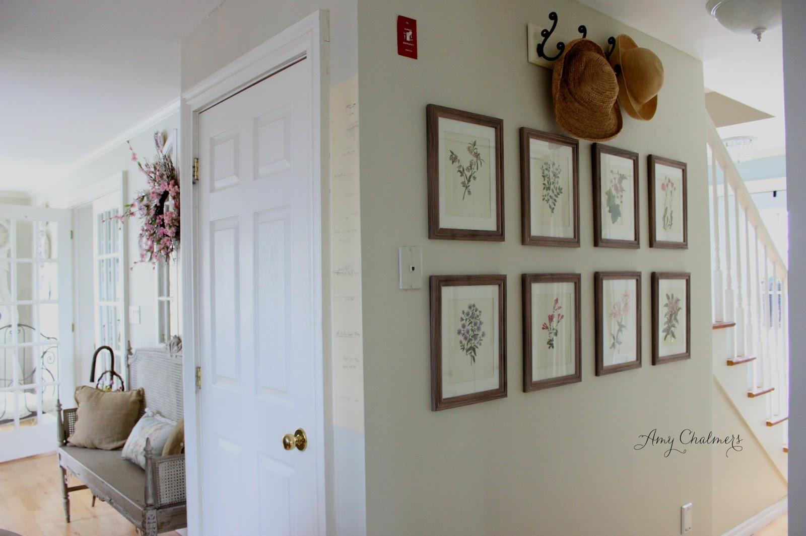 Home Decor Wall Groupings : Maison decor create a botanical wall grouping
