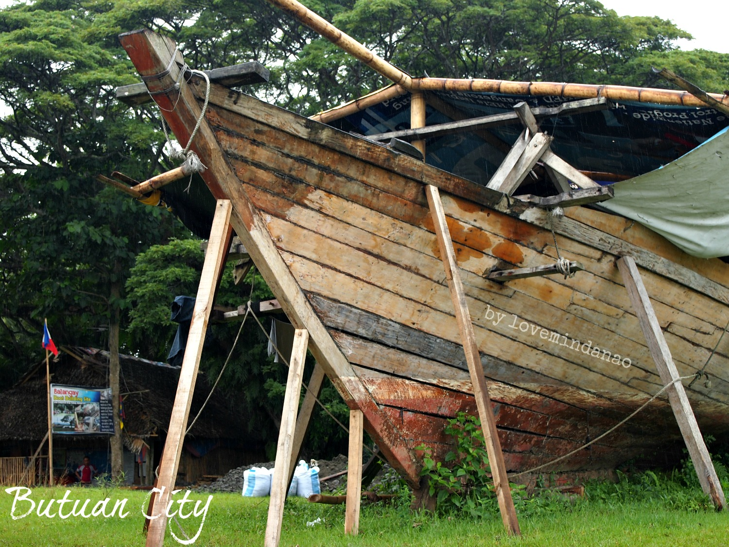 Love Mindanao: Balangay Boat Building Site in Butuan City