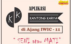 Aplikasi KANTONG KARYA di Ajang IWIC - 11