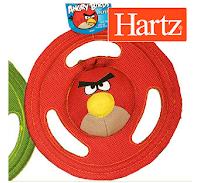 Le jouet Tuff Stuff Flyer Angry Birds pour les chiens