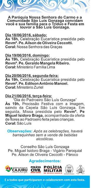 Festa de São Luís Gonzaga