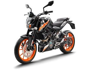 Price and spec KTM Duke 200