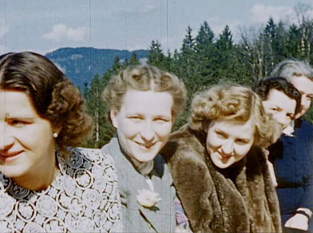 Eva Braun Color photo World war II worldwartwo.filminspector.com
