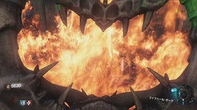ファフニール・ガードで炎を45秒吸収しろ