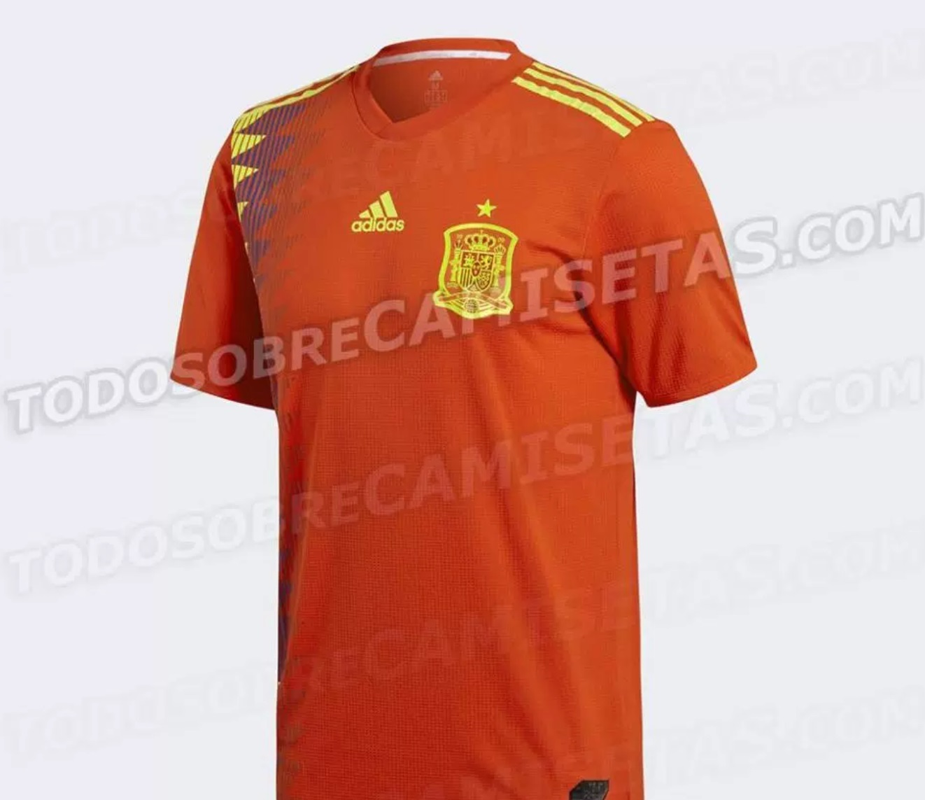 spain home kit 2018 world cup revealed