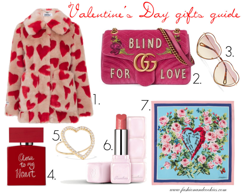Valentine's Day gift guide for Women on Fashion and Cookies fashion blog