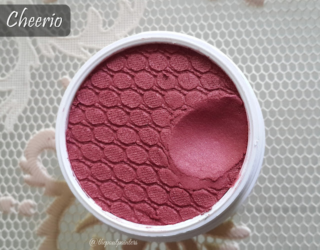 Colour Pop Super Shock Cheeks Cheerio Swatch
