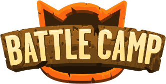 Battle Camp Mobile Game Logo by PennyPop