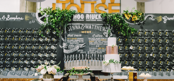 Industrial Urban Oasis at This Chic Brewery Venue