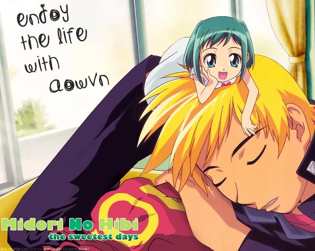 midori no hibi aowvn2 - [ Anime 3gp Mp4 ] Midori no Hibi   Vietsub - anime tình cảm đời thường hay