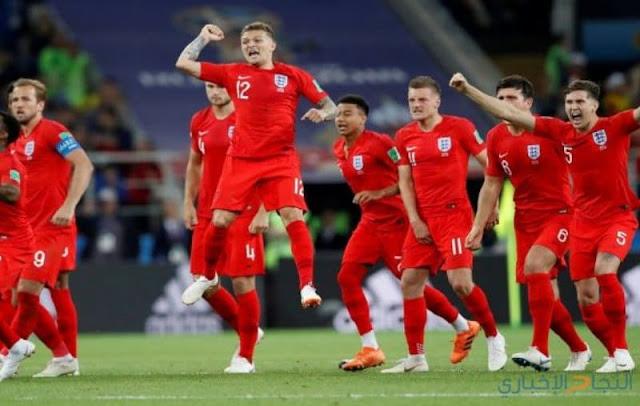 إتكلترا تبلغ نصف نهائي كأس العالم للمرة الأولى منذ 24 عاماً بعد تغلبها على السويد
