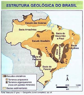 Geo Conceição Estrutura Geológica Do Brasil