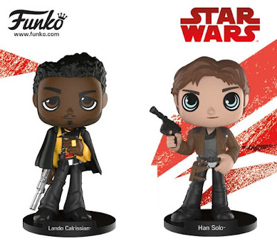 Solo: A Star Wars Story Wobblers Bobble Heads by Funko - Lando Calrissian & Han Solo