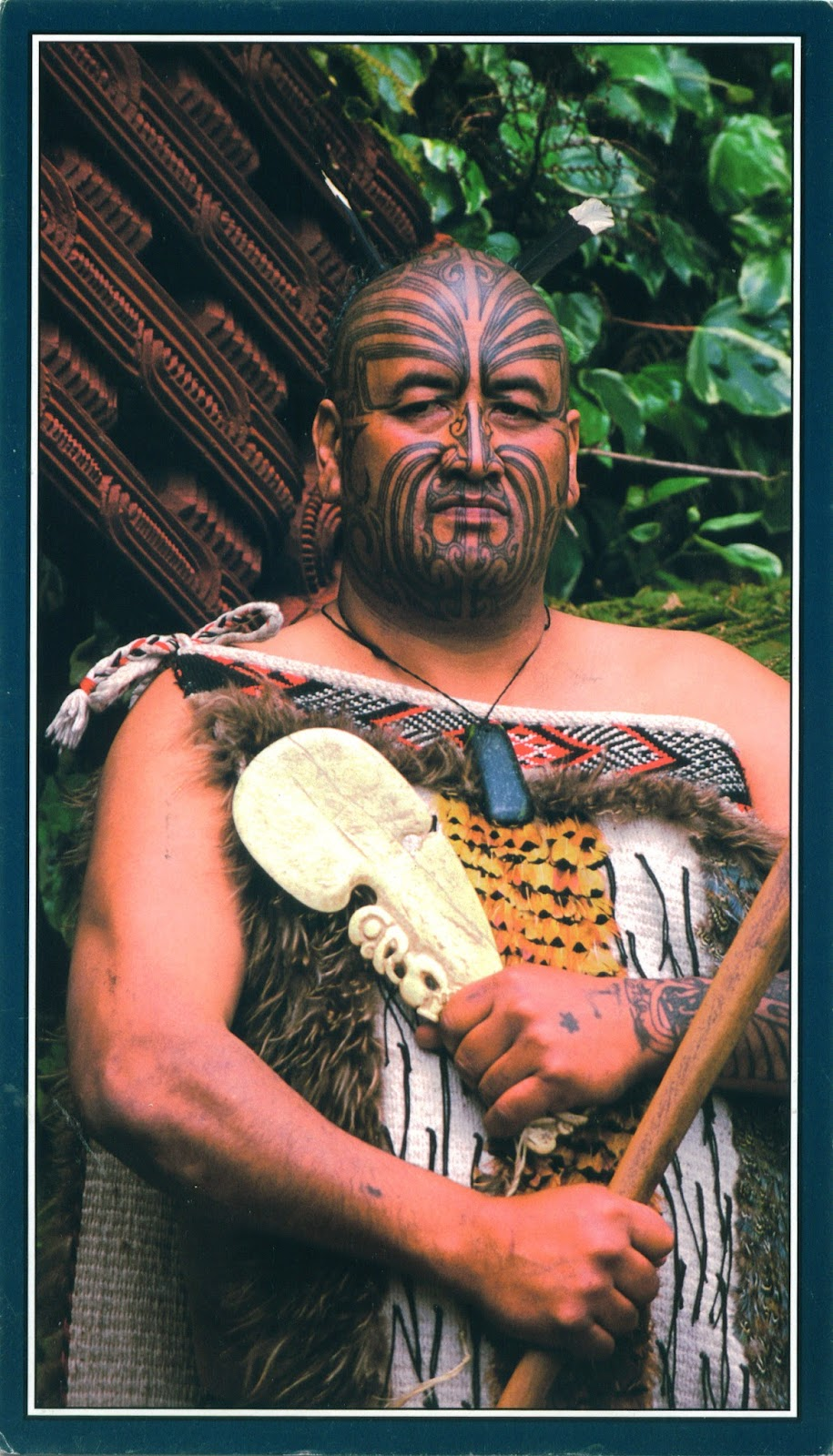 Maori Natives: WORLD, COME TO MY HOME!: 0295, 2318 NEW ZEALAND
