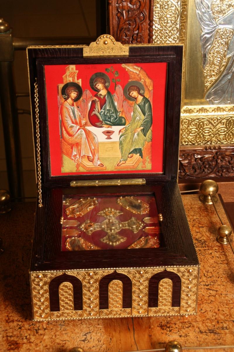 Λειψανοθήκη της Ιεράς Μονής Ζωγράφου Αγίου Όρους. http://leipsanothiki.blogspot.be/