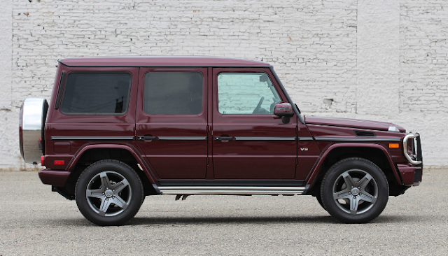 2016 Mercedes-Benz G550 Review