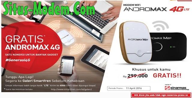 Promo Modem MIFI Smartfren 4G  Terbaru Gratis Khusus untuk Kamu, Buruan Jangan Sampai Kehabisan !!!