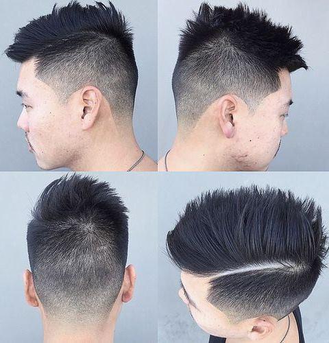 Potongan Rambut Pria Samping Belakang Tipis 4