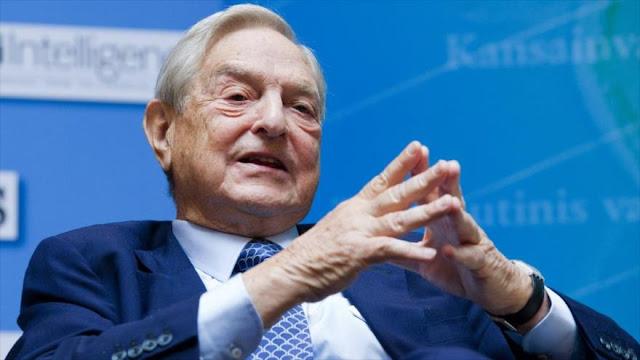 El magnate, multimillonario, especulador financiero y filántropo estadounidense de origen húngaro George Soros.