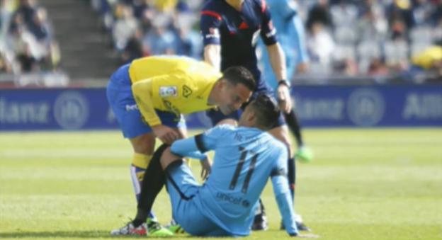 Roque Mesa se encaró a Neymar
