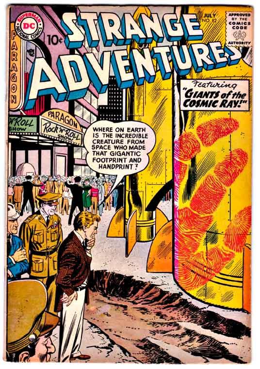 Strange Adventures (1950) issue 82 - Page 1