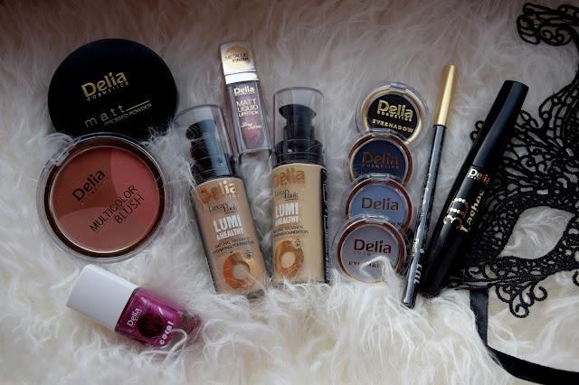 Makijaż na wiosnę kosmetykami Delia Cosmetics