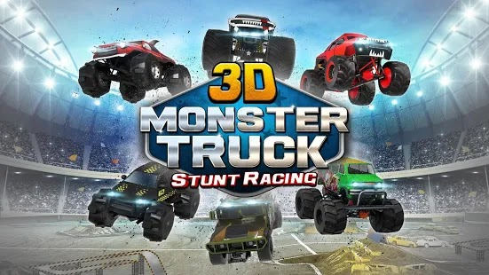 3D Monster Truck Parking Game Apk Free on Android Game Download