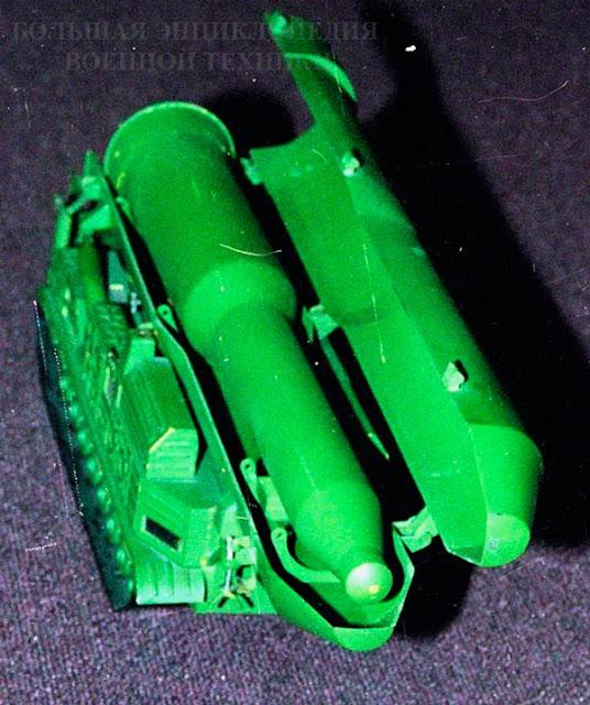 Модель проекта СПУ 8У253 с ракетой РТ-15, Музей истории и техники ОАО Кировский завод, 2001 г. 2