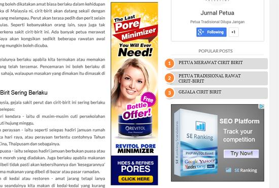 Adsense di blog Bahasa Melayu