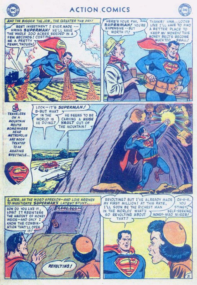 Read online Action Comics (1938) comic -  Issue #176 - 10