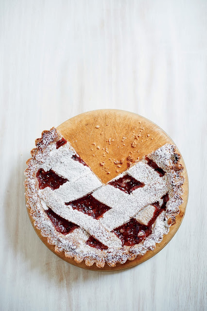 Linzer tort from My Kitchen Year, photo by Mikkel Vang
