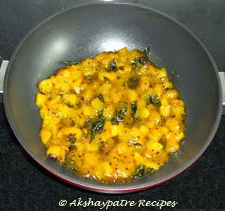 add water, jaggery, salt and boil