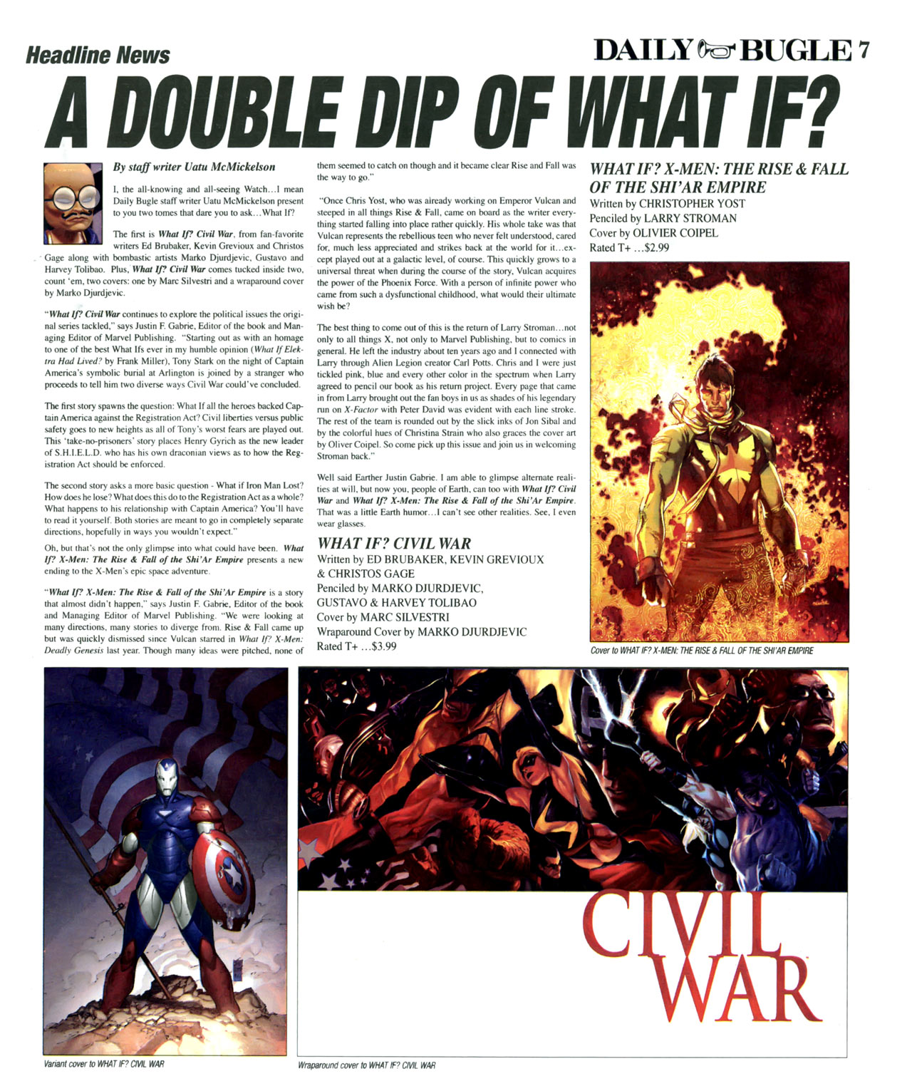 Read online Daily Bugle (2006) comic -  Issue #15 - 8