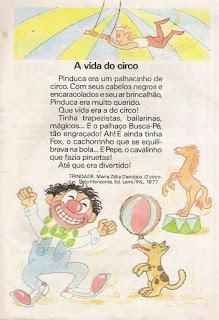 Leitura A vida no circo