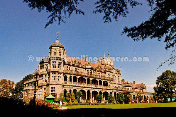 It's impossible that I don't visit Viceregal Lodge, while in Shimla. I visited Shimla in Oct, 2011 and had a very quick visit to Indian Institute of Advanced Studies as well. Let's check out a quick PHOTO JOURNEY to Viceregal Lodge, Shimla !!!There is a huge lawn in front of this building and initially people were allowed to relax here, but due to some reasons now tourists are not allowed to walk over this lawn. There are dedicated paths around this lawn to enjoy the beauty of this place.Viceregal Lodge in Shimla was designed by Henry Irwin who was an architect in the Public Works Department at that timeViceregal Lodge or IIAS, Shimla is situated on a hill top near Summerhill (Shimla-05). Like other forts in India, this is place was chosen because of security reasons as most of the surrounding places were visible from boundaries of this building. There are some wonderful views of surrounding hills from this building. Now mainly Tutoo region is clearly visible and others are hidden by dense forest !!Thereare two wonderful gardens around Viceregal Lodge. One is near this lawn and other is in the backyard. The one in backward is famous one among couples of Himachal Pradesh University :) ... But now, it's not that popular as other options are available..The Viceregal Lodge had electricity as far back as 1888 which is much before the rest of the town of ShimlaThere is no ticket for getting access to Viceregal campus but one needs to buy a ticket to see it inside. various areas of Viceregal Lodge are well preserved. The room where Gandhi met other officials on Pakistan matter is well preserved along with various things used that time. A Bell made of eight metals which was presented by the king of Nepal was available to be admired by tourists.Here is top view of Viceregal Lodge in Shimla. Some text is carved on top of it, which probably explain about it's construction year and relevant details. You can notice Indian Flag on top of Viceregal Lodge !!This is first view if we