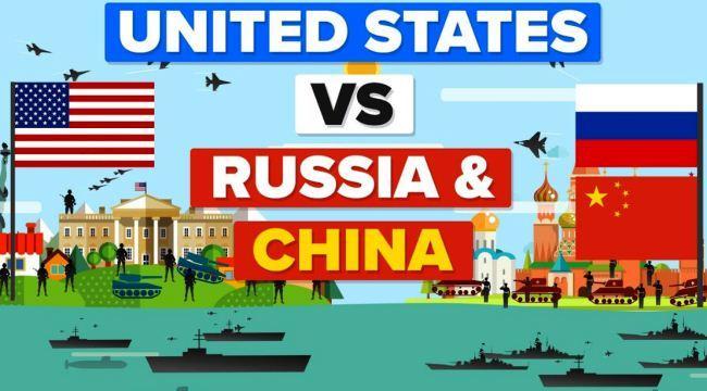 AS VS Rusia dan China