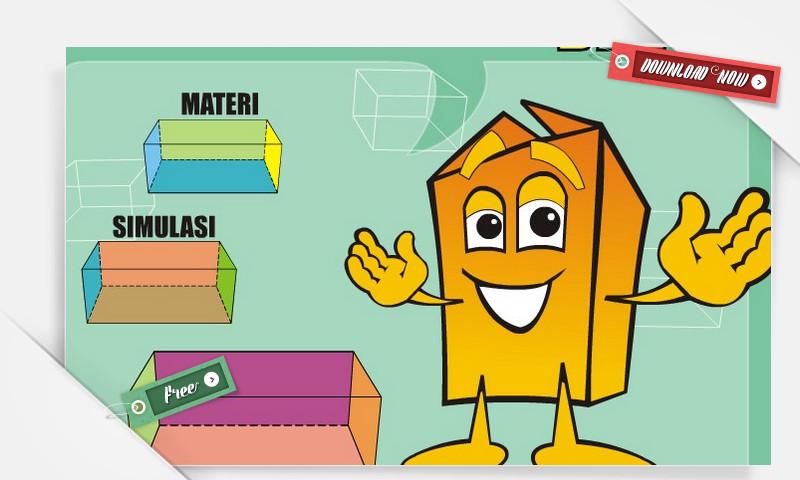 Media Pembelajaran Matematika SD Berbasis TIK : Pengertian Dan Sifat Balok