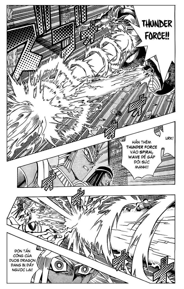 YUGI-OH! chap 318 - cùng nhau chống lại bóng tối trang 9