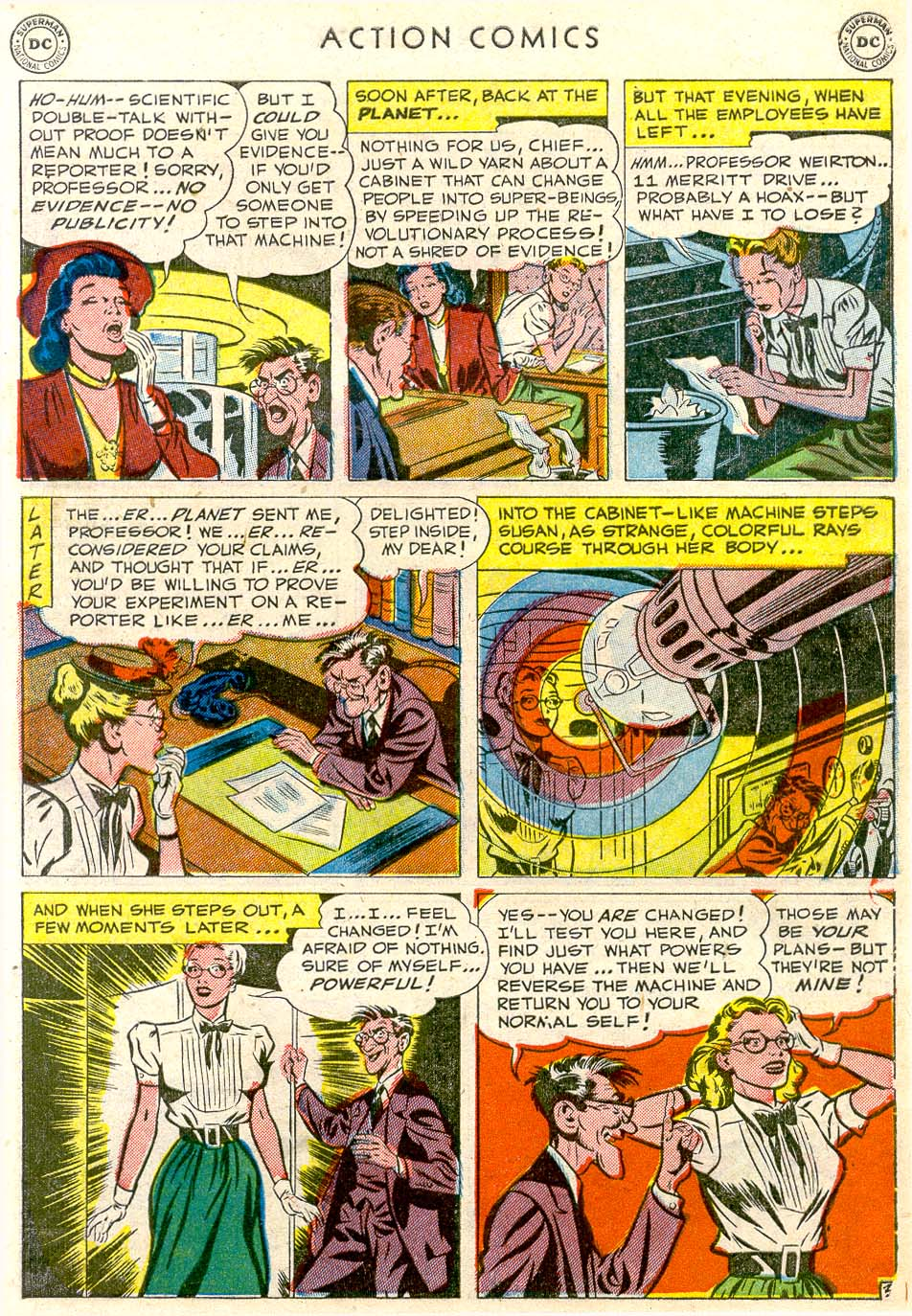 Read online Action Comics (1938) comic -  Issue #163 - 4